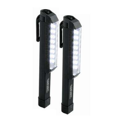 100-Lumen Larry Pocket WorkBrite LED Flashlight in Black (2-Pack)