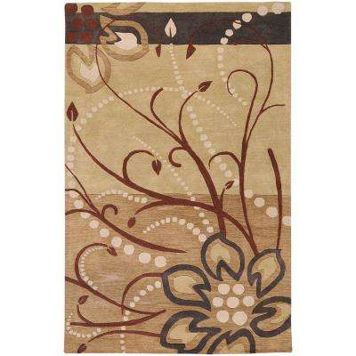 Fremont Tan 12 ft. x 15 ft. Wool Area Rug