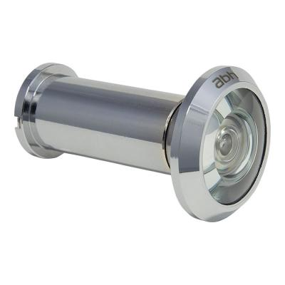 200-Degree Polished Chrome Door Viewer with Mixed Lenses