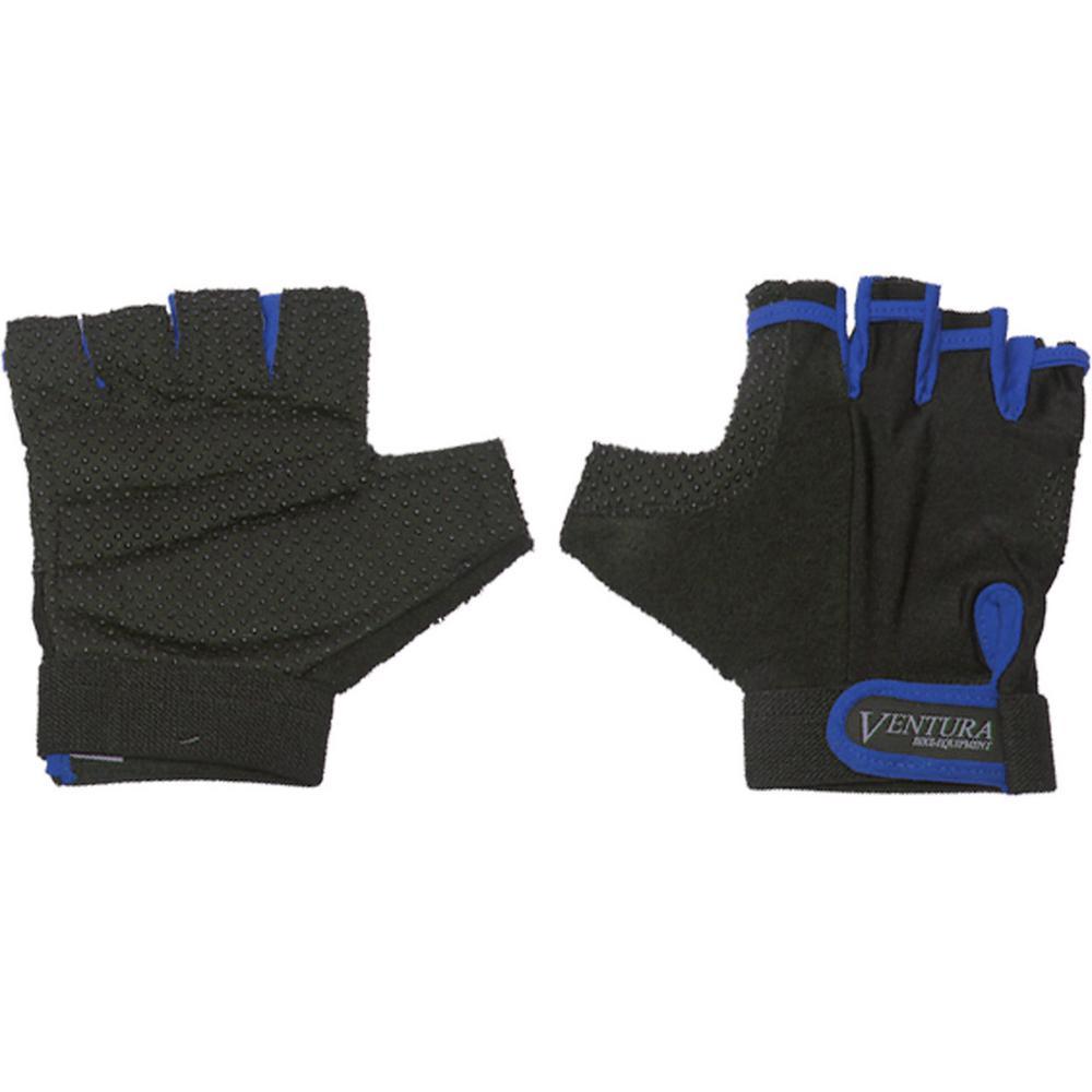 Medium Blue Bike Gloves