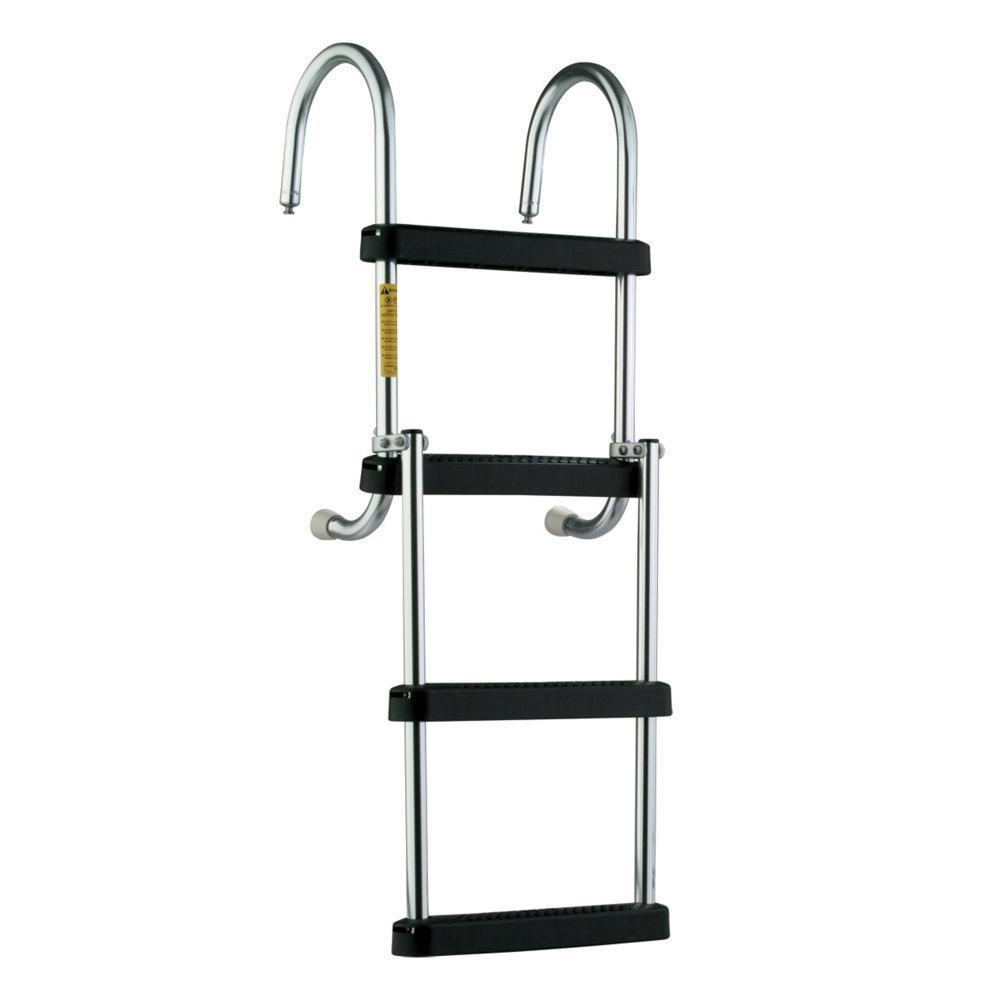 Eez-In Removable Folding Pontoon Boarding Ladder