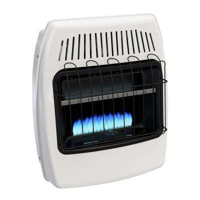 20,000 BTU Blue Flame Vent Free Natural Gas Wall Heater