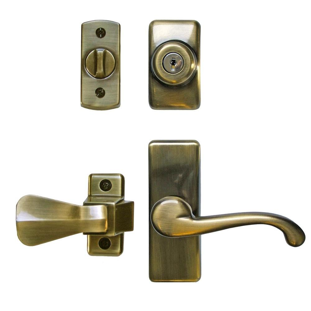 IDEAL Security Deluxe Storm and Screen Door Lever Handle ...