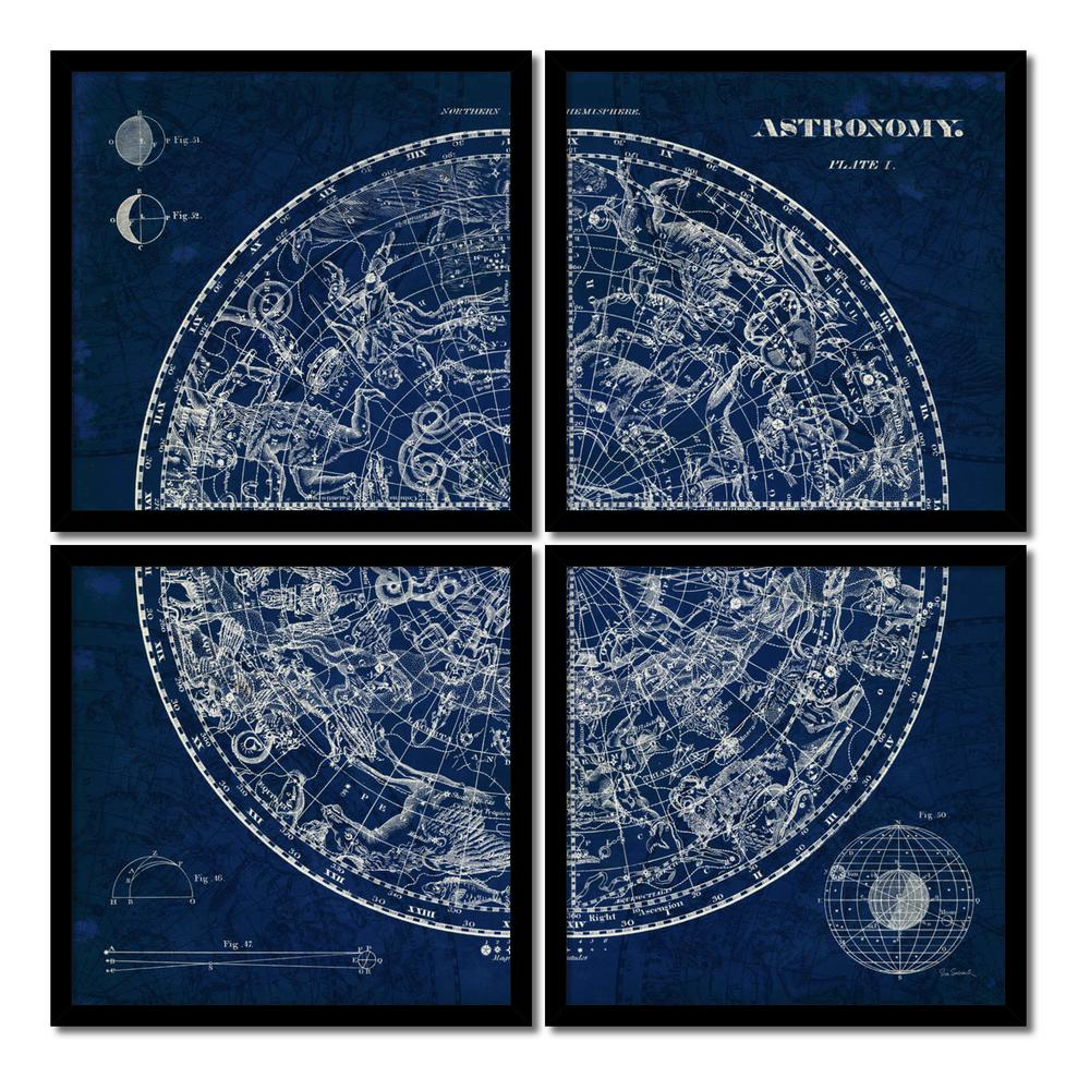 Amanti art 19 in w x 19 in h each celestial blueprint quad set h each celestial blueprint quad malvernweather Choice Image