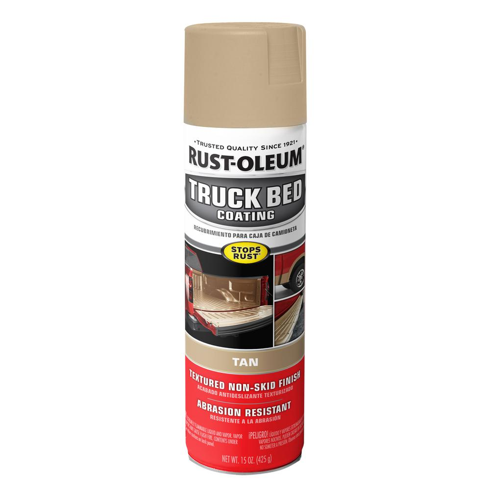Rust-Oleum Automotive 15 oz. Tan Truck Bed Coating Spray (6-Pack)