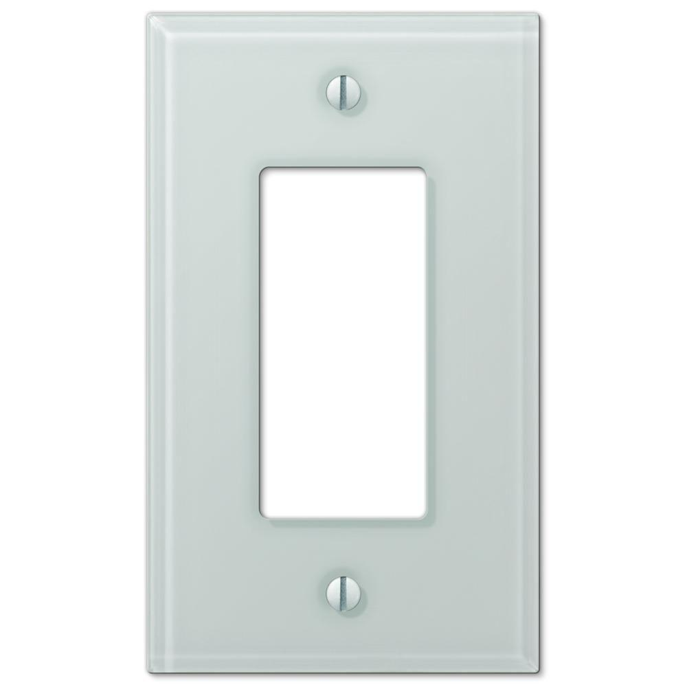 White Wall Switch Plates Amazing Hampton Bay Acrylic Glass 1 Decora Wall Plate  White67Rwhb  The Design Decoration