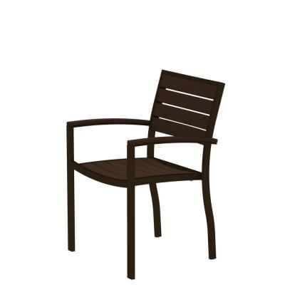 Wicker Stackable Outdoor Dining Chairs Patio Chairs The Home Depot