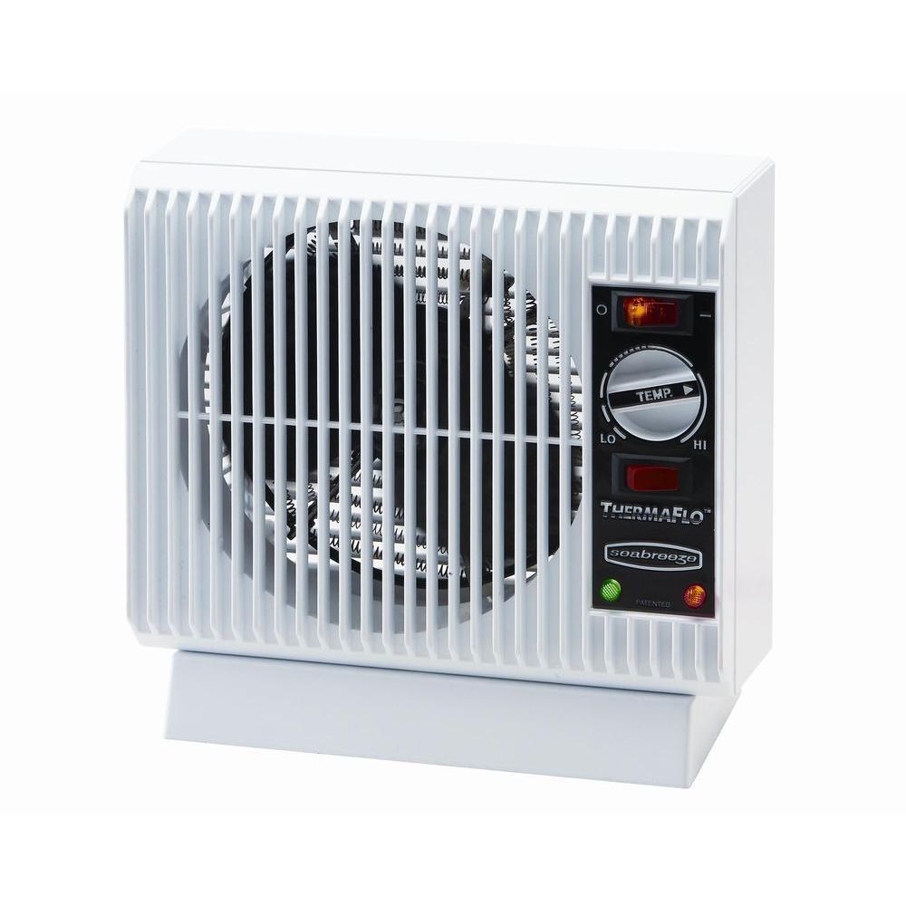 Seabreeze Slim Line 1500-Watt Fan Heaters Electric Portable Heater-DISCONTINUED