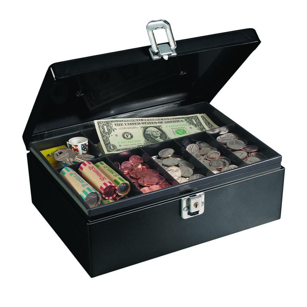 Anti-Theft Security Cable Cash Box Safe
