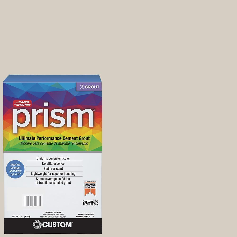 Prism #545 Bleached Wood 17 lb. Grout