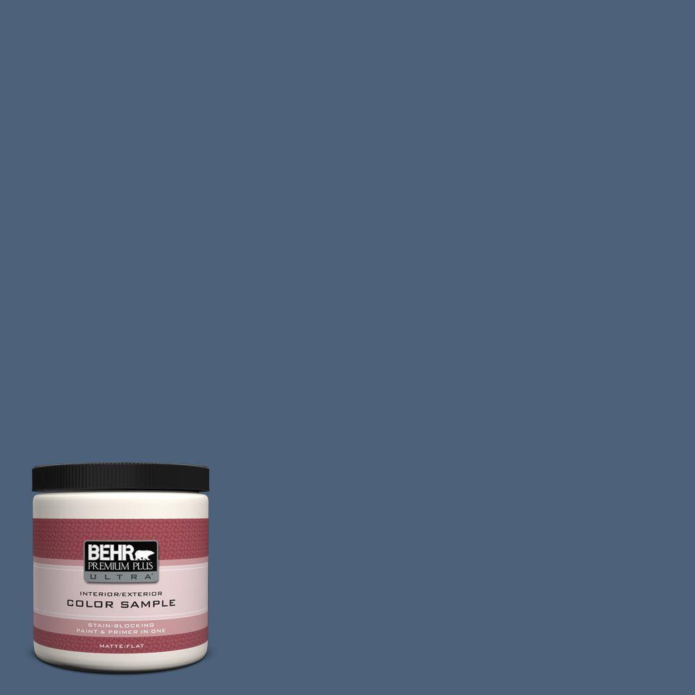 BEHR Premium Plus Ultra 8 oz. #590F-6 Mesmerize Interior/Exterior Paint Sample