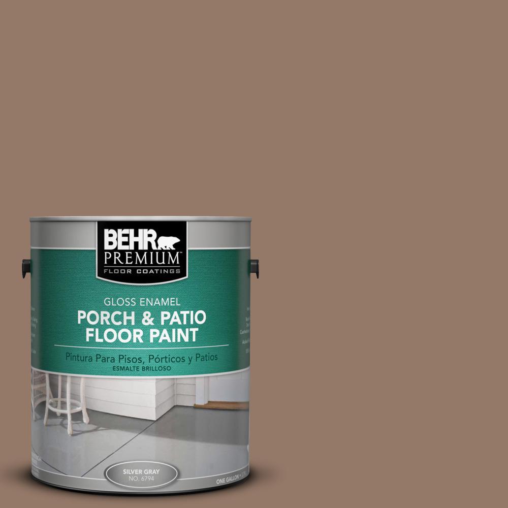 1 gal. #BXC-73 True Walnut Gloss Interior/Exterior Porch and Patio Floor