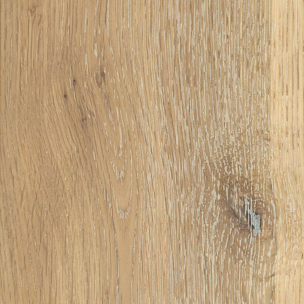 Home Legend Take Sample Wire Brushed White Oak Hardwood Flooring 5 In