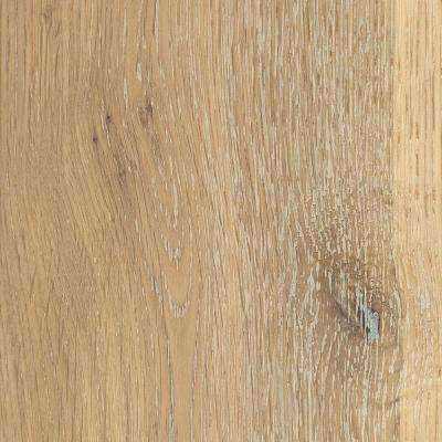 Take Home Sample - Wire Brushed White Oak Hardwood Flooring - 5 in. x 7 in.