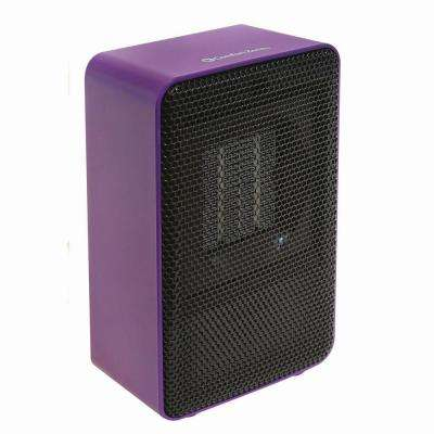 Personal Desktop Ceramic Heater, Purple