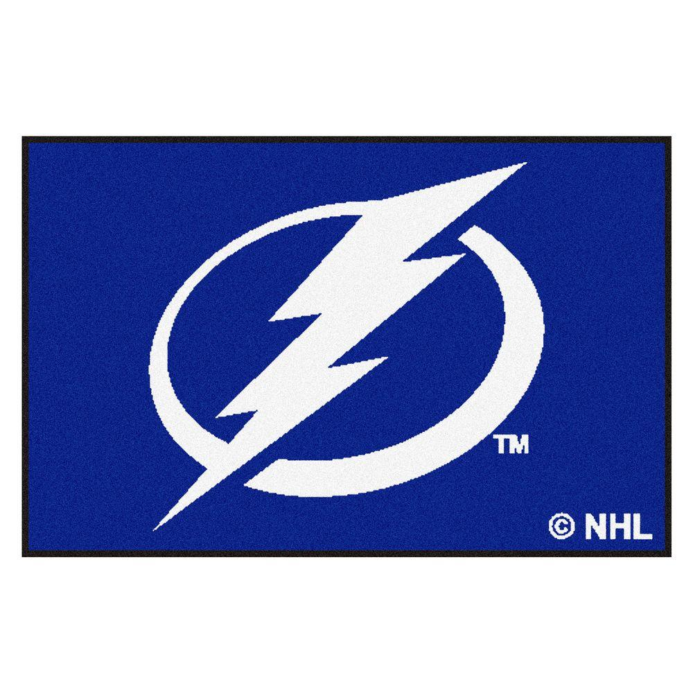 Tampa Bay Lightning 19 in. x 30 in. Accent Rug