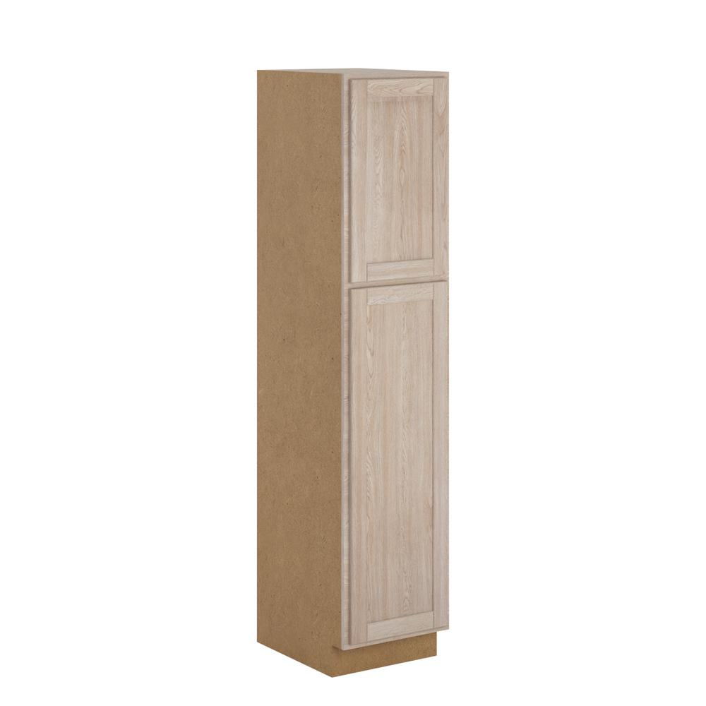 Hampton Bay Stratford Assembled 18x84x24 In. Pantry
