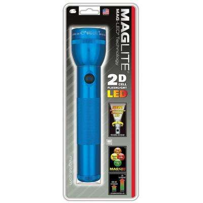 LED 2D Flashlight in Blue