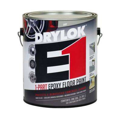 1 gal. Gray E1 Epoxy Floor Paint