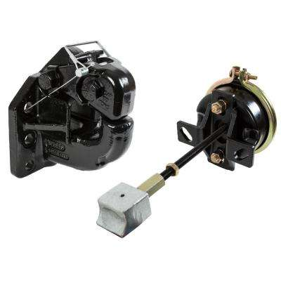 50 Ton 6 Hole Pintle Hook with Air Chamber and Plunger