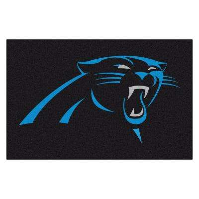 Carolina Panthers 19 in. x 30 in. Accent Rug