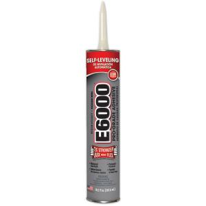 E6000 10.2 fl. oz. Clear Medium Viscosity Cartridge Adhesive (12-Pack) by E6000