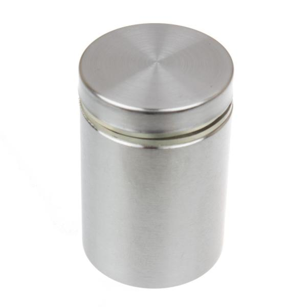 1-1/4 in. Dia x 1-1/2 in. L Stainless Steel Standoffs for Signs (4-Pack)