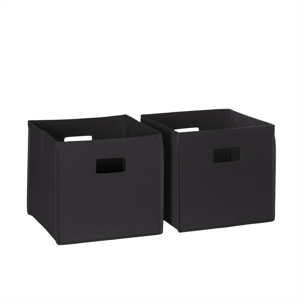 10.5 in. x 10 in. Folding Storage Bin Set (2-Pack)