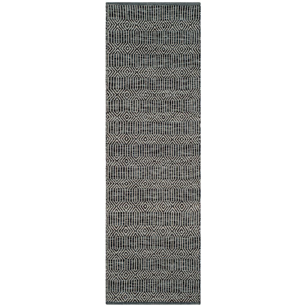 Montauk Ivory/Dark Gray 2 ft. 3 in. x 9 ft. Runner