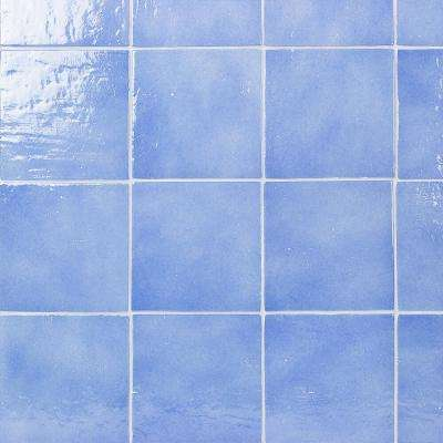Appaloosa Baby Blue 7 in. x 7 in. 10mm Polished Porcelain Floor and Wall Tile (30-piece 10.43 sq. ft. / box)