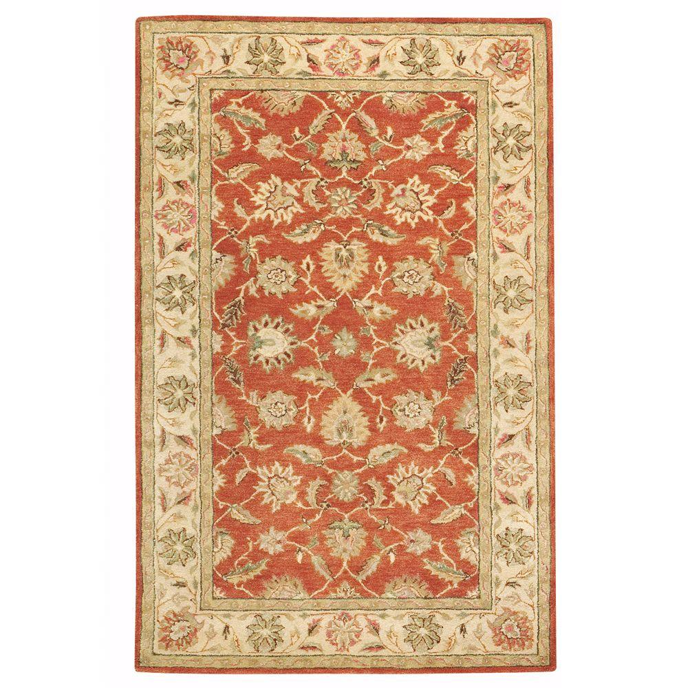Old London Terra/Ivory 2 ft. x 3 ft. Accent Rug