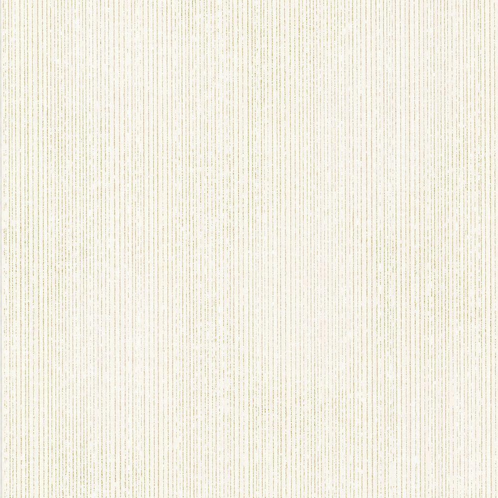 Comares Champagne Stripe Texture Wallpaper Sample