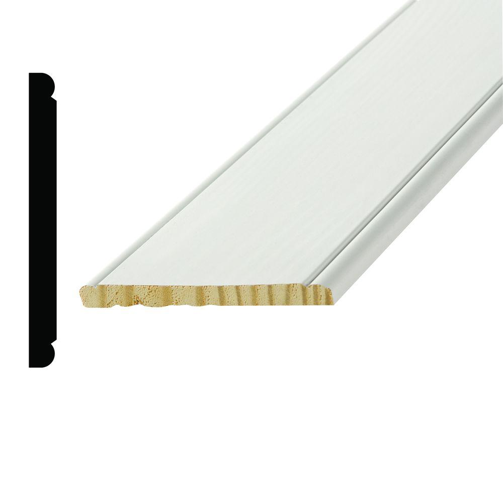 Good 7 Chair Rail Part - 7: Alexandria Moulding WP 959 7/16 In. X 4-1/2 In