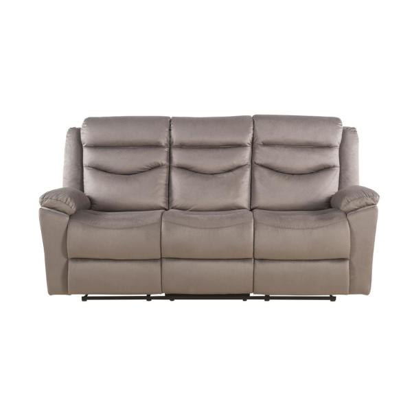 Acme Furniture Fiacre Brown Velvet Sofa 53665