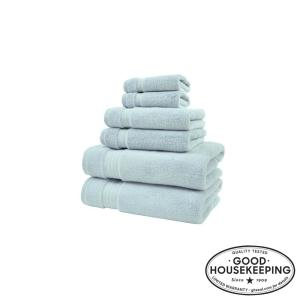 Egyptian Cotton 6-Piece Towel Set in Raindrop
