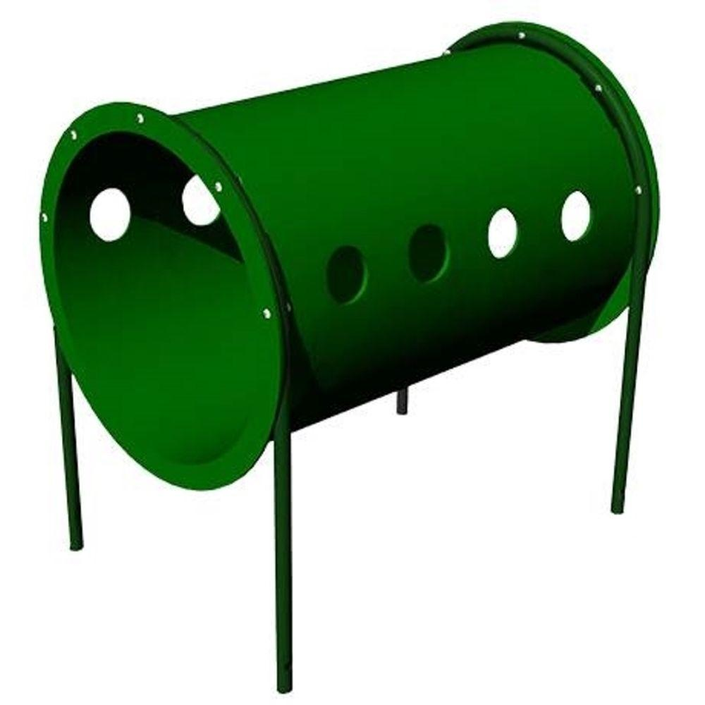 Ultra Play Today Green Commercial Freestanding Crawl Tunnel