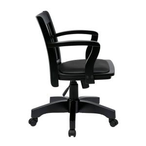 +9. OSPdesigns Black Bankers Chair