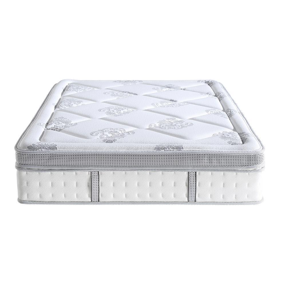 Sleep Options Gramercy King-Size 14 in. Gel Foam and Innerspring Mattress