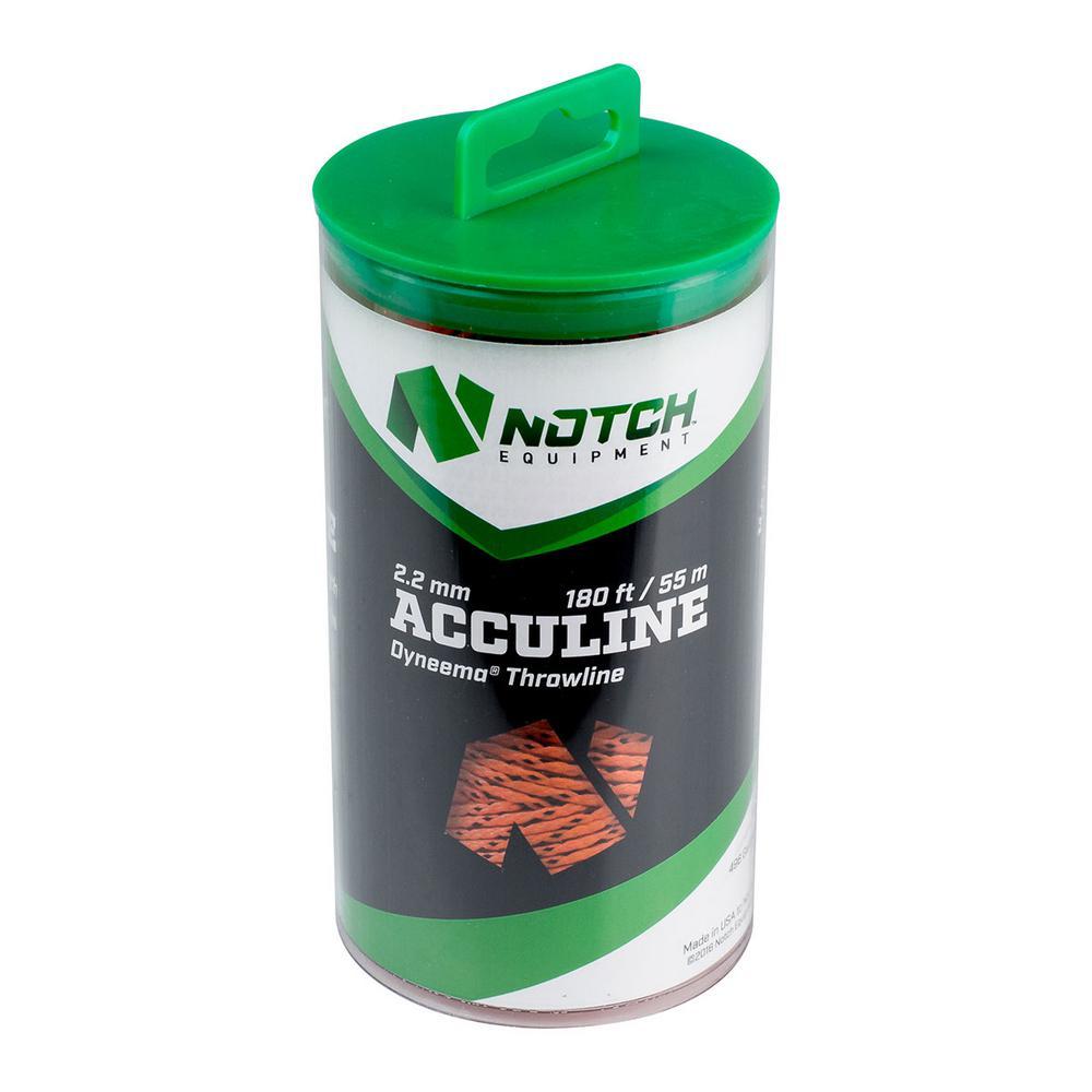 Notch 180 ft. Acculine 2.2 mm. Throwline