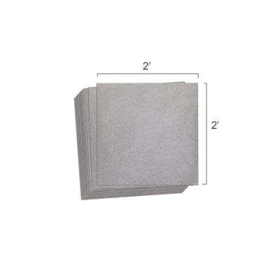 CeraZorb 2 ft. x 2 ft. Insulating Synthetic Cork Underlayment (Pack of 12 Sheets)