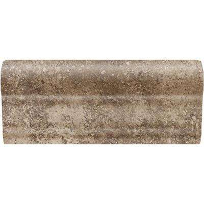 Santa Barbara Pacific Sand 2 in. x 6 in. Ceramic Chair Rail Wall Tile