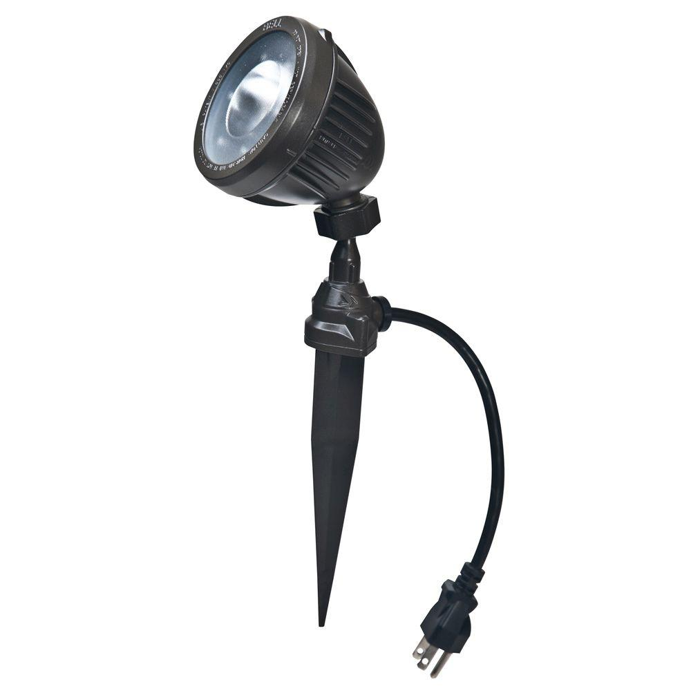 BELL Bronze Outdoor Integrated LED Landscape Flood Light  sc 1 st  Home Depot & BELL Bronze Outdoor Integrated LED Landscape Flood Light-SPLED500Z ...