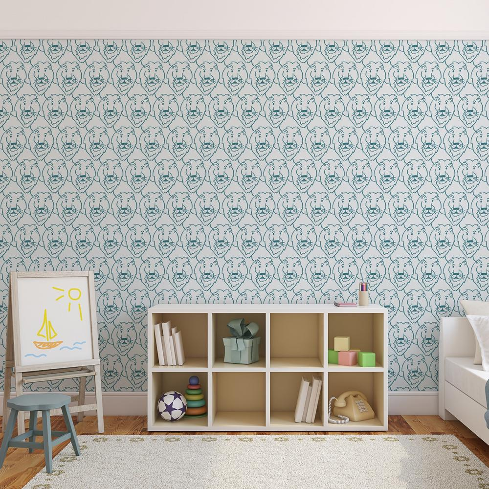Graham & Brown Majestic Teal Removable Wallpaper-30-435