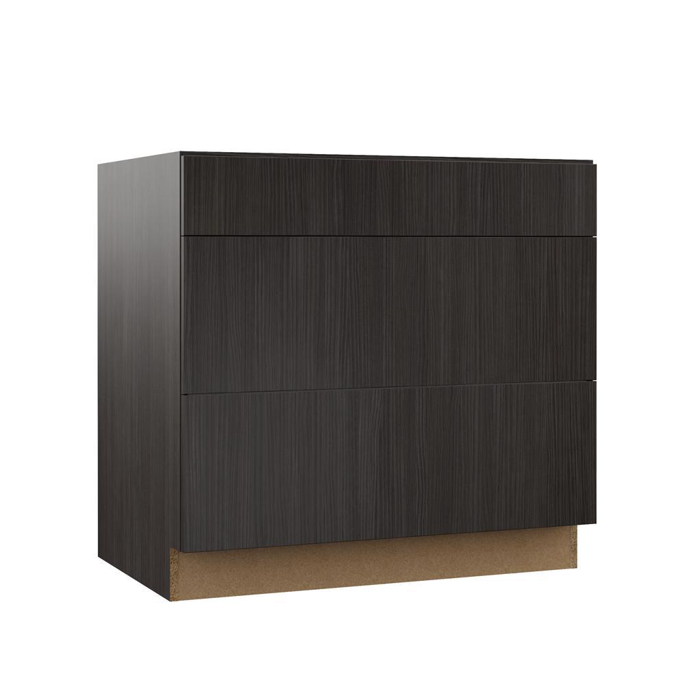 Hampton Bay Designer Series Edgeley Assembled 36x34.5x23