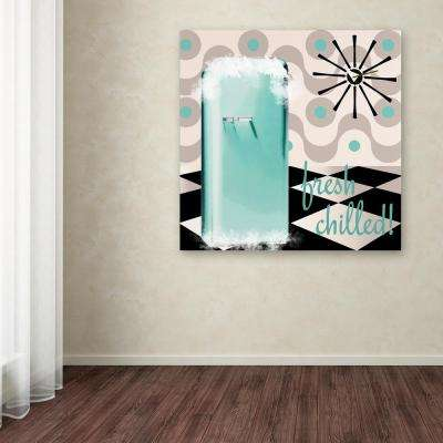 """14 in. x 14 in. """"Fifties Kitchen II"""" by Color Bakery Printed Canvas Wall Art"""