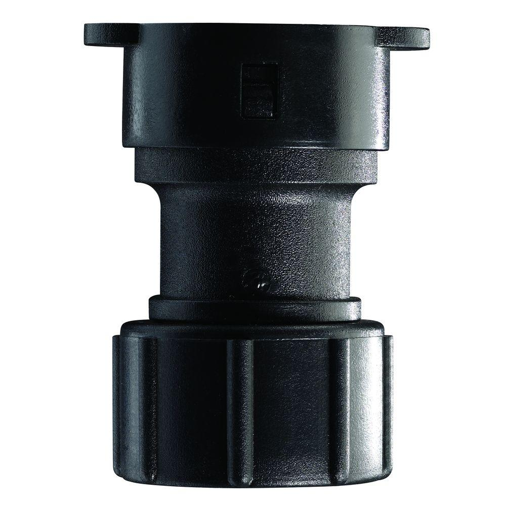 Orbit 3/4 in. Hose x 1/2 in. Drip Lock Adapter