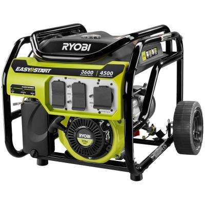 3,600-Watt 212cc Gasoline Powered Portable Generator