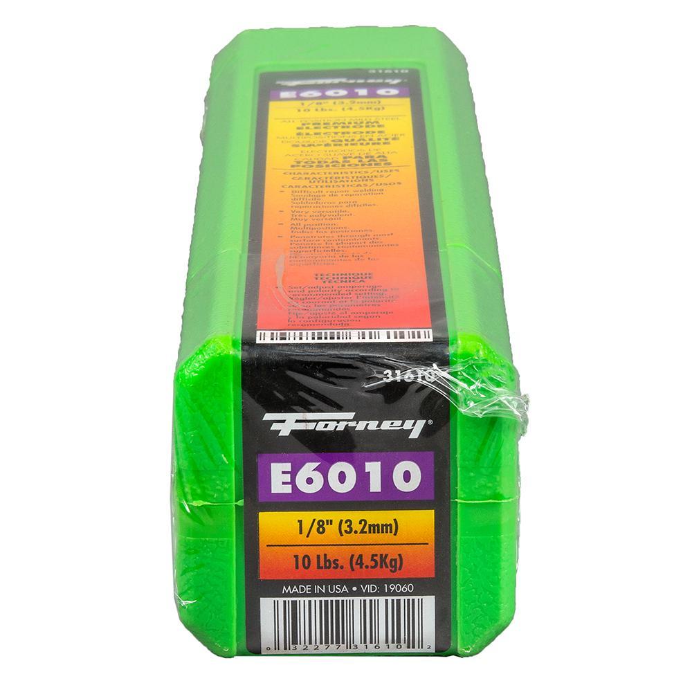 """10 lb x 6-pk E6011 1//8/"""" Premium Arc Welding Rods Carbon Steel Electrode 60 lb"""