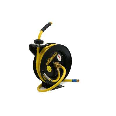 3/8 in. x 25 ft. Oil Shield Air Hose on Reel