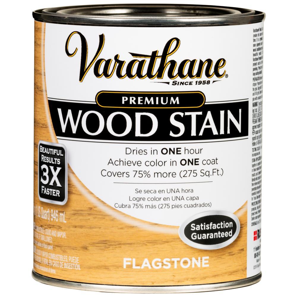 Varathane 1 Qt. Flagstone Premium Fast Dry Interior Wood Stain (2-Pack)